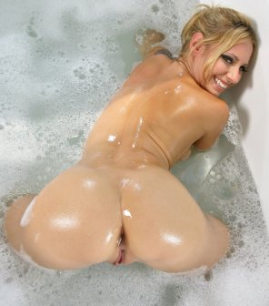 amateur photo Happy Blonde