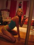 amateur photo Selfie in the mirror