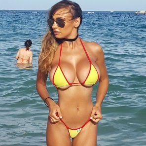 amateur photo Iryna Ivanova at the Beach