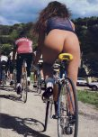 amateur photo Bottomless riding