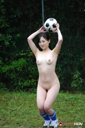 amateur photo Football Girl