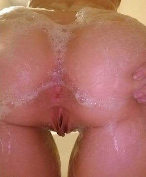 amateur photo Care to join the shower?