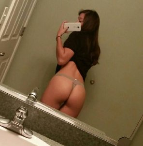 amateur photo Rear selfie