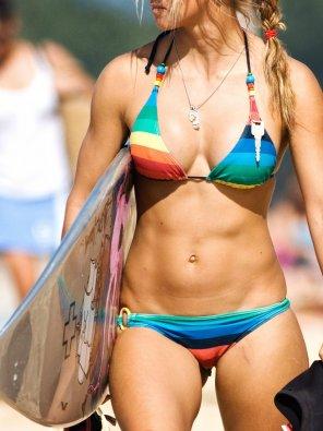 amateur photo Surfer Girl