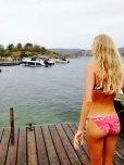 amateur photo The bikini ass
