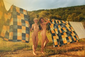 amateur photo Hot day with Alia and Anastasia by Igor Viushkin