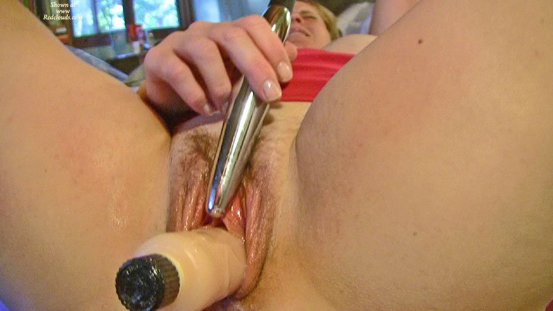 Vaginal and Clit play Porn Photo