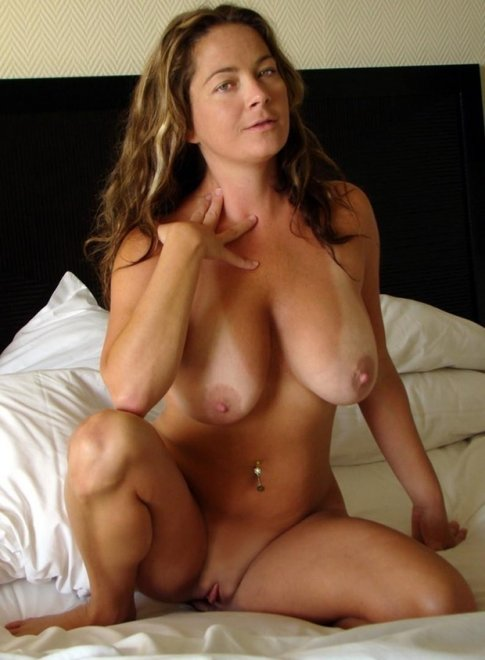 amateur photo Natural MILF With Tan Lines...