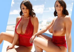 """amateur photo Stacey-Poole """"Red Holiday & Massive Tits_2"""""""