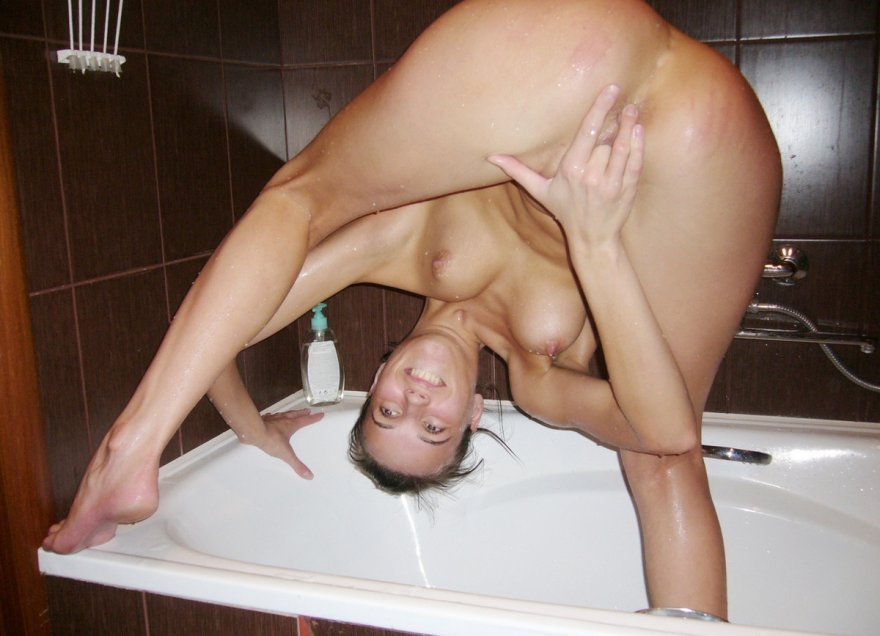 Precarious But Hot Porn Photo
