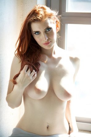 amateur photo Hot red head