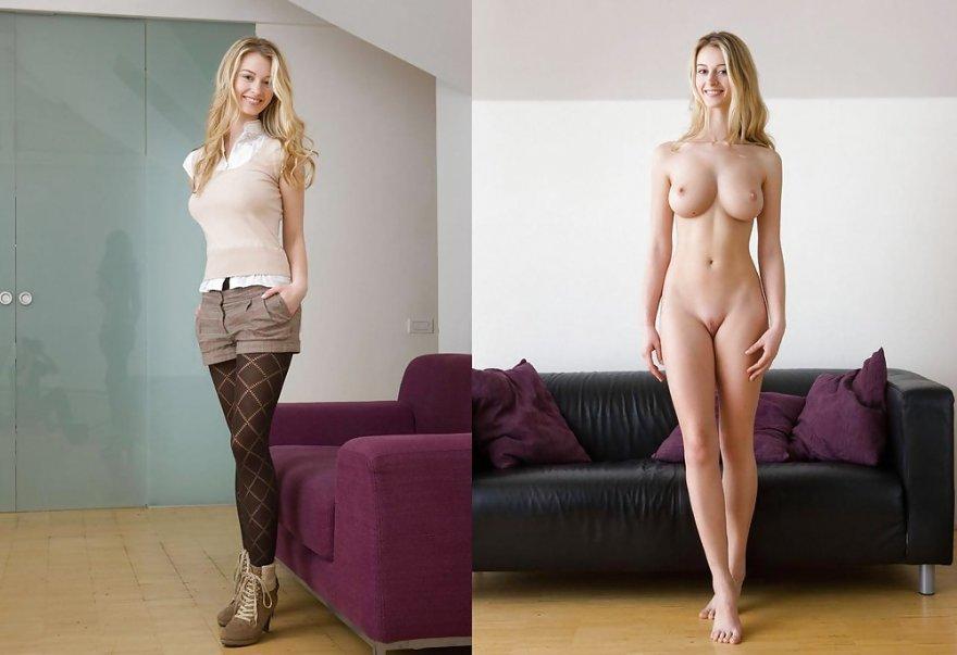 Hot blonde Porn Photo