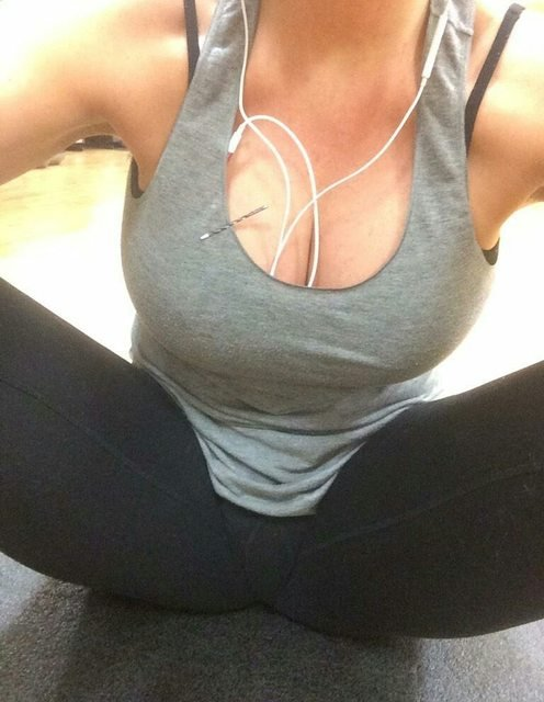 Mid-Workout Porn Photo