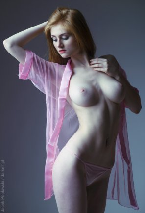 amateur photo Pink Robe
