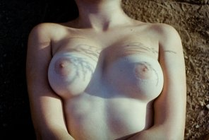 amateur photo Analog natural boobs
