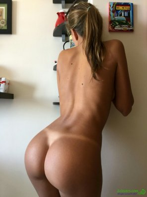 amateur photo Terrific tan