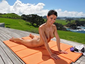 amateur photo Naked Yoga