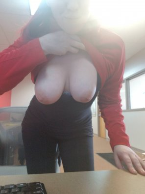 amateur photo Some [f]lashing in an open work area with cameras behind me...living dangerously is the best ;)