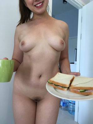 amateur photo [OC] I made you a sandwich!