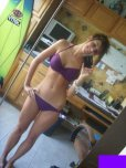 amateur photo Love a purple bikini