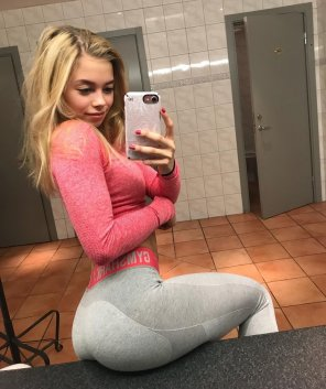 amateur photo PictureYoga pants are really great