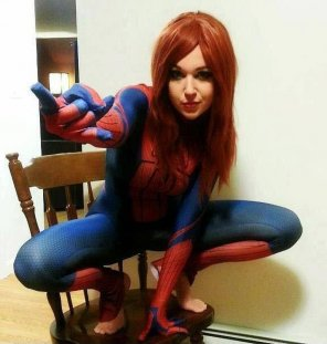 amateur photo Spider-girl