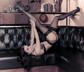 amateur photo Heels, Stockings and Garters