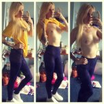 amateur photo Gorgeous Blonde Loses Her Top