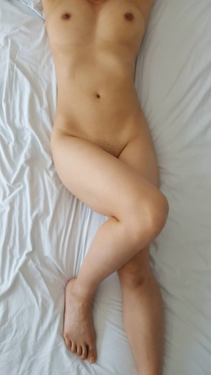 amateur photo Took today off to sleep in naked :)