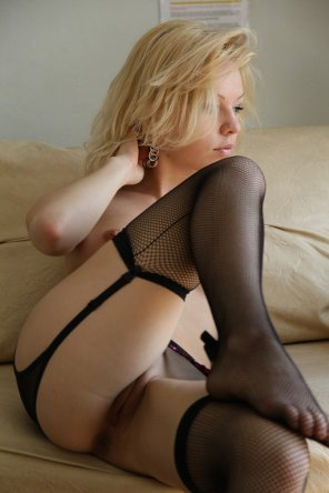 amateur photo Casual blonde