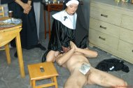 Nun facesitting