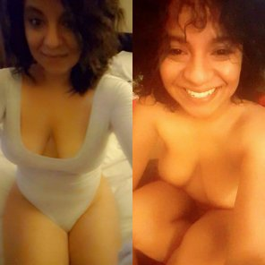 amateur photo Latina smile