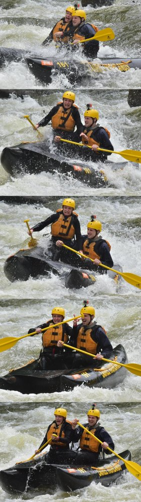 amateur photo My wife had so much fun white water rafting this weekend!