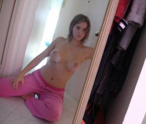 amateur photo Pink Pants