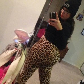 amateur photo Leopard print