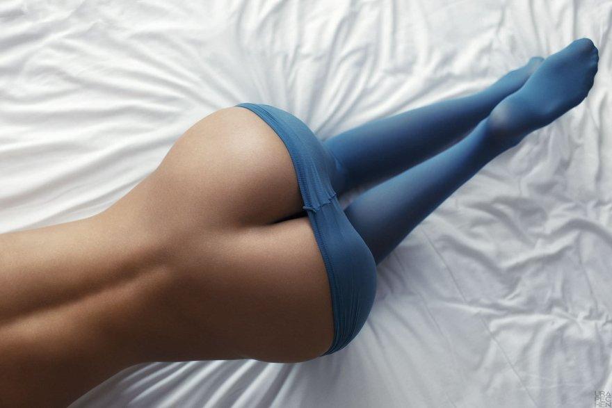 Blue Ass Porn Photo