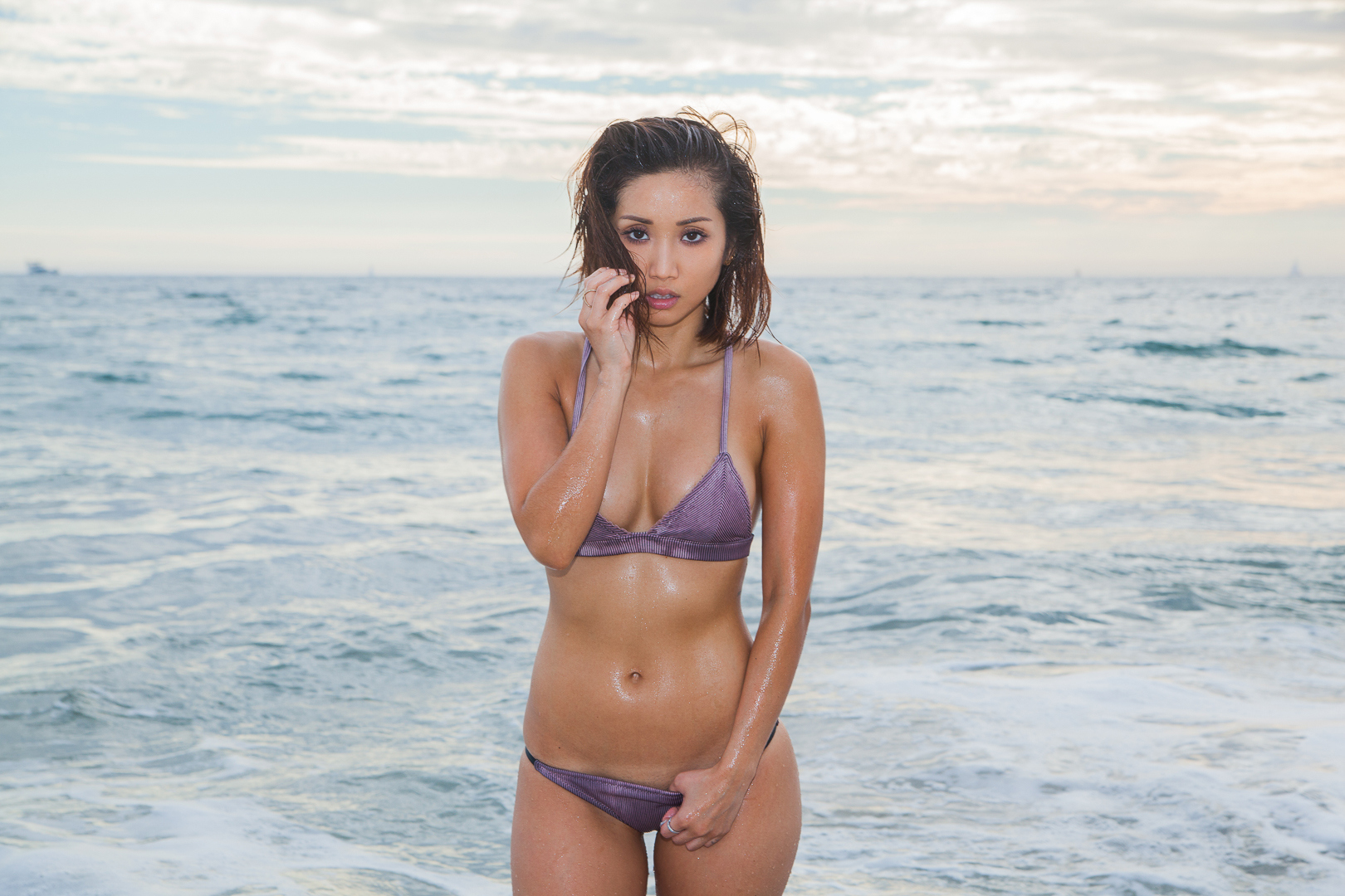 Are absolutely bikini brenda song can
