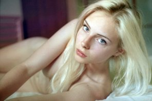 amateur photo Blond
