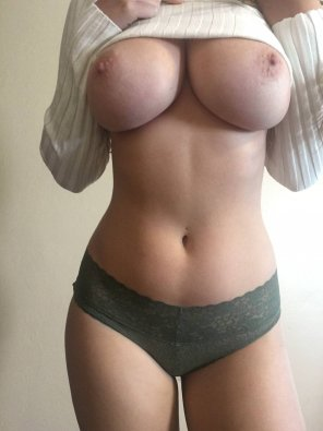 amateur photo Sweater Titties!
