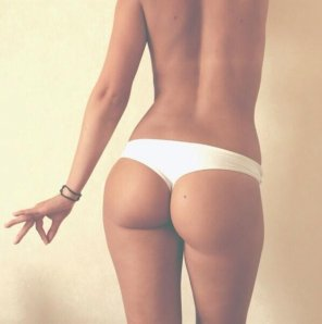 amateur photo White panty