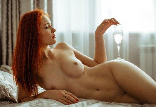 Champagne... Porn Photo