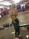 amateur photo Workout selfie