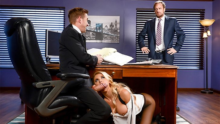 Daddy's Hardest Worker – Alix Lynx Porn Photo