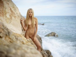 amateur photo Aleksandra by the sea