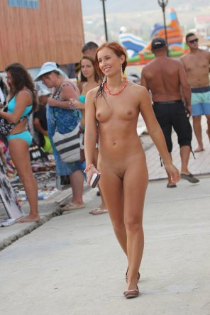 amateur photo Forgot her clothes