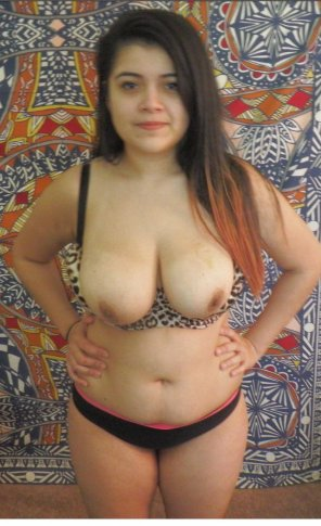 amateur photo Lovely latina titties