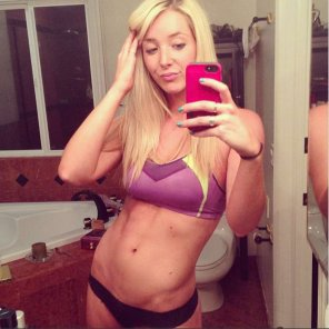 amateur photo Jenna Marbles got some abs