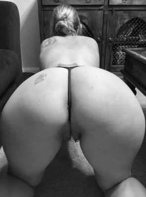 amateur photo The impressive Milf Boltonwife with The Thong well Stuck in the Ass