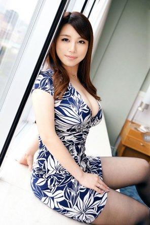 amateur photo Floral print dress