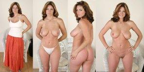 amateur photo Slightly thick lady